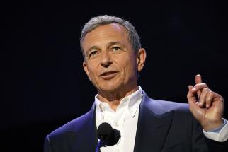 Bob Iger, CEO of The Walt Disney Co., speaks during the Disney Legends Awards at the D23 Expo in July 2017.