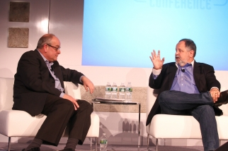 Magid Advisors President Mike Vorhaus talks with USA Today President and Publisher Larry Kramer about reinvention of the paper at the Ad Age Digital Conference