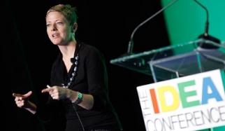 Christine Mau at the Creativity Idea Conference