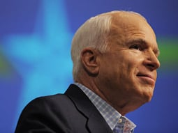 As Goes the Stock Market, So Goes McCain