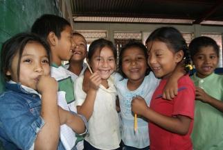 Fabretto Children's Foundation helps children in Nicaragua.
