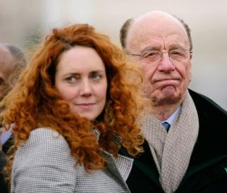 Rebekah Brooks and Rupert Murdoch as the scandal grew last year