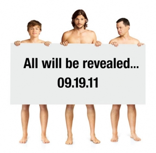 Promotional image for the upcoming season of Two and a Half Men