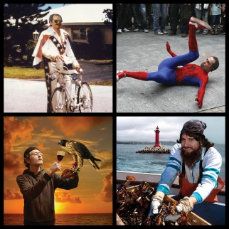 Clockwise from top: Tommy Means, Jason Harris, Ian Kovalik, Pete Caban