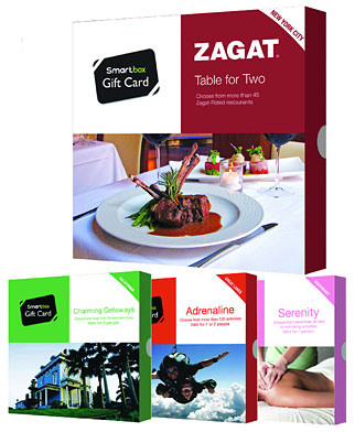 Smartbox and Zagat created a U.S. restaurant experience, the Zagat Smartbox Table for Two.