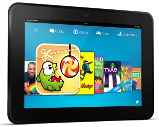 Amazon's Android-powered Kindle Fire tablet