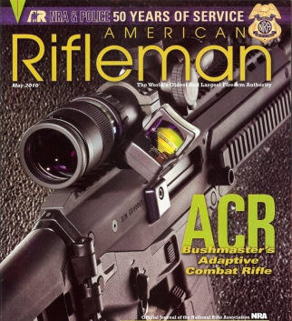 American Rifleman is the official magazine of the National Rifle Association.