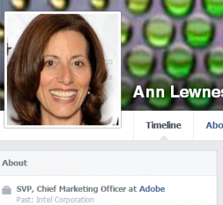 A real CMO on Facebook