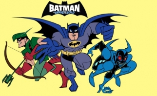 'Batman: The Brave and the Bold' is on Cartoon Network... and streaming on Netflix.