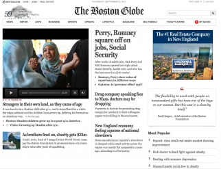 A Tale of Two Sites: Globe Intros New Look for Paid Readers Only