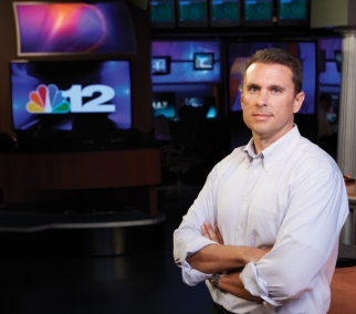 NBC affiliate WWBT's General Sales Manager Brian Ahladas monitors rates and shifts schedules to keep the locals happy.
