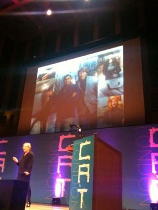 RIT's Liz Lawley presents at CAT London.