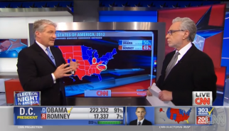 CNN's John King later explained how Barack Obama won.