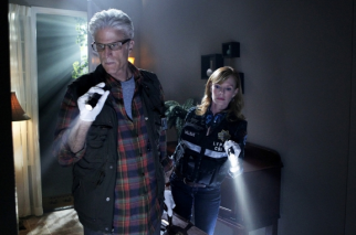 Ted Danson and Marg Helgenberger star in 'CSI' on CBS.