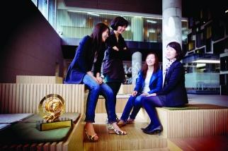 Youna Chung, Youbin Bang, Yeonjoo Lee and Misu Yi