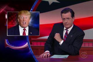 Watch Stephen Colbert Bring Back 'Stephen Colbert' to Define 'Trumpiness'
