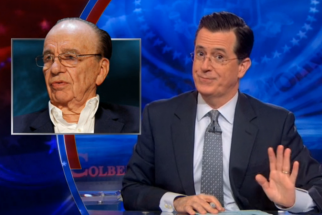 Will Colbert's Nickname for 'Power Couple' Rupert Murdoch and Rand Paul Stick?