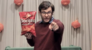 A scene from one of the submissions to Doritos' latest 'Crash the Super Bowl' campaign
