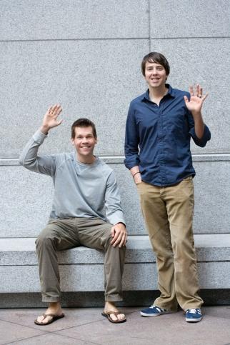 Kallman and Allen say goodbye to New York