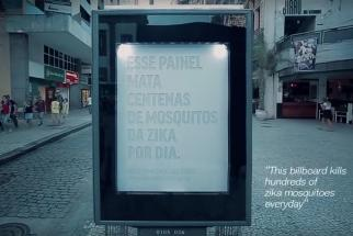 Mosquito killer billboard