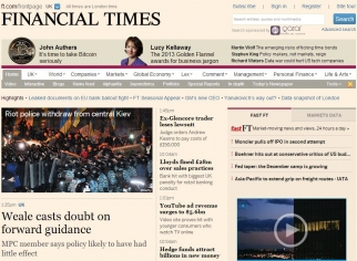 The Financial Times says its data on subscribers is helping it charge higher prices for ads