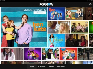 The Fox Now app
