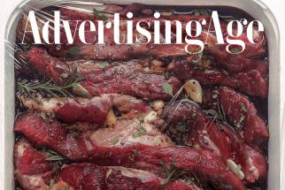 Winners of Ad Age Contest Put Raw Meat on Our Cover