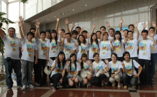 HP's 'Creating a Better Life' program in China turned the young village officials into IT ambassadors in rural villages.