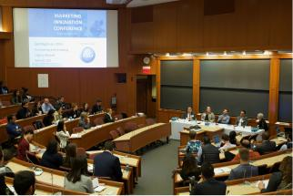 View of the Harvard Business School's Annual Marketing Innovation Conference