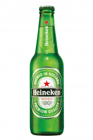 Heineken's new bottle