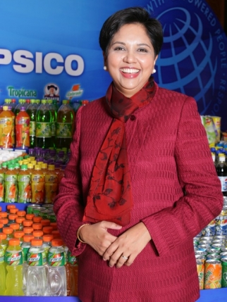 PepsiCo CEO Indra Nooyi is looking to boost U.S. beverage sales and regain market share from Coca-Cola.