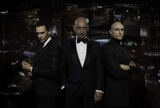 Tom Hiddleston, Ben Kingsley and Mark Strong will appear in Jaguar's first Super Bowl ad
