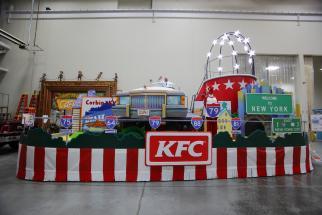 KFC Parade Float