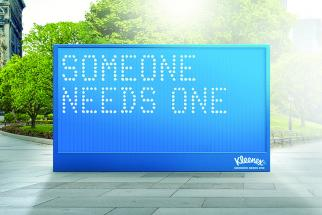 Kleenex Aims to Make Kindness 'Contagious'