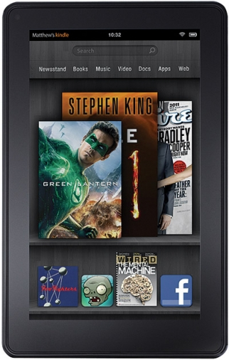 Amazon Sets Kindle Fire to Sell Media
