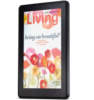 Martha Stewart Living on the Kindle Fire