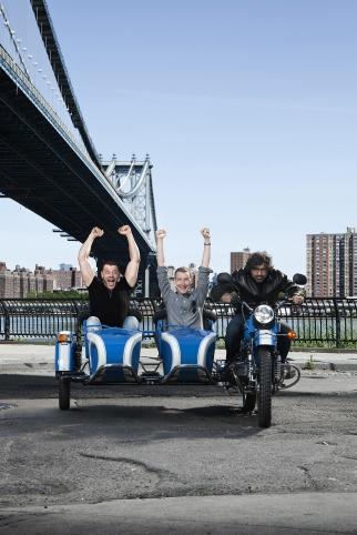 From Left: Ryan Kutscher, Matt Macdonald and Jeff Benjamin