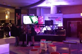 Lenovo's CES showroom
