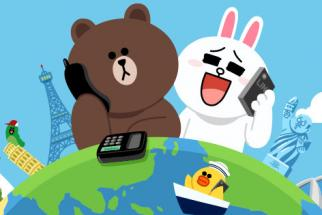 Brands can borrow Line's signature cute characters for sticker campaigns.