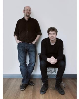 Magnus Andersson (left) and Daniel Wahlgren
