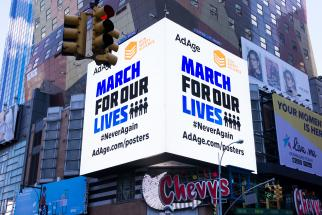 March for our Lives: Anti-violence creative goes on billboards countrywide