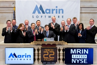 Marin Software CEO Christopher Lien on IPO day