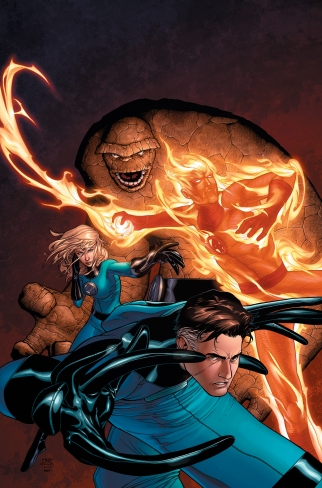 Marvel Knights 4 cover
