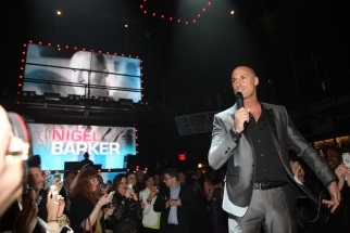 Nigel Barker at Oxygen's party for 'The Face,' which the network used in place of its traditional upfront bash