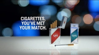 NJoy e-cigarettes is introducing a new TV campaign.