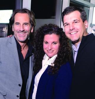 CEO Trio: Michael Nyman, Cindi Berger and Chris Robichaud