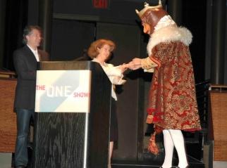 The King, One Club CEO Mary Warlick and former McKinney ECD David Baldwin