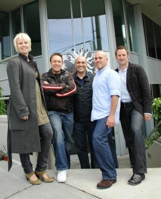 L to R: Lindsay Daniels, David Bryant, Kevin Drew Davis, Hart Rusen and Drew Meyers