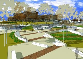 Proposed Paine's Park design