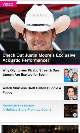 People magazine's mobile site